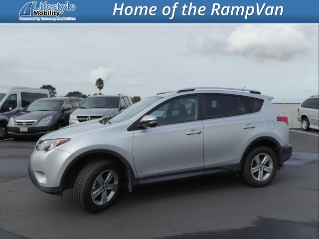 2015 Toyota RAV4  Wheelchair Van For Sale